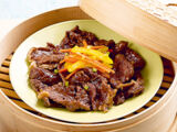 Steamed Beef with Oyster Sauce
