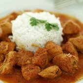 Dahi-wali Chicken Curry (Chicken in a Yoghurt Gravy)