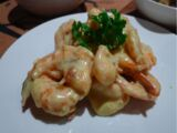Butter and Cheese Prawns