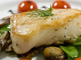 Portuguese-style Baked Sea Bass