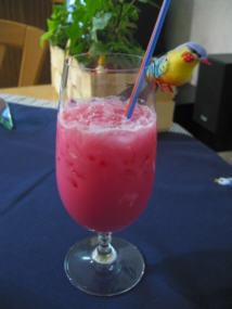 Cocktail pink colada