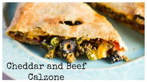 How to Make the Beef and Cheese Calzone