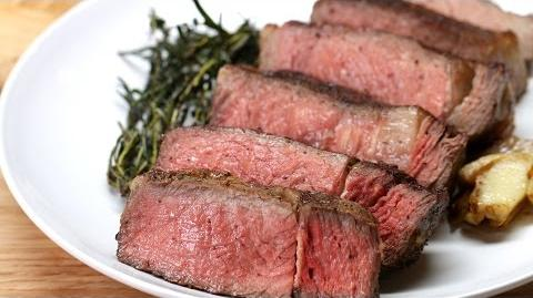 How to Make the Garlic-Butter Steak