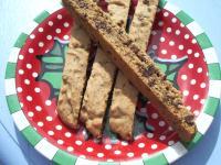 Cinnamon mocha biscotti