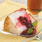 Raspberry-angel-cake
