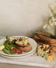 Baked Herb Ricotta and Roast Cherry Tomatoes
