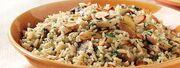 Mushroom-Almond Rice
