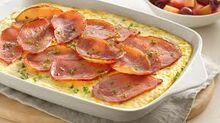 Canadian Bacon Omelet