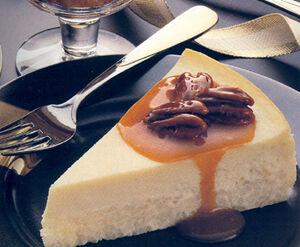 Rice Cheesecake with Praline