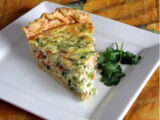 Smoked Salmon Quinoa Quiche