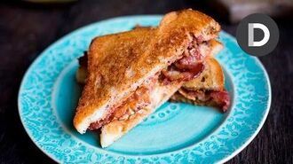 THE ELVIS- Bacon, Peanut Butter & Banana Sandwich!