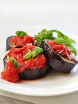 Baked Eggplant Slices