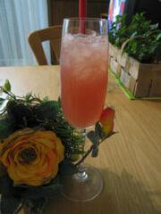 Cocktail rum daisy