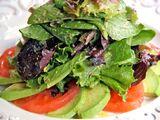 Marinated Avocado Salad