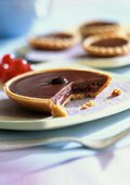 Chocolate Nut Tartlets