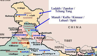 map of northern india Category North Indian Recipes Recipes Wiki Fandom map of northern india