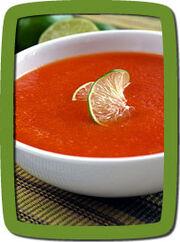 Avocado Zucchini Soup