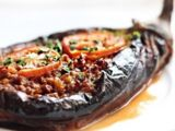 Middle Eastern Stuffed Eggplant