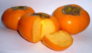 Kaki persimmons