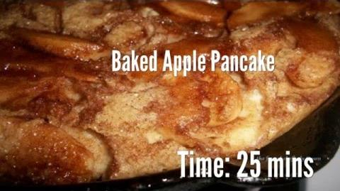 Baked Apple Pancake Recipe