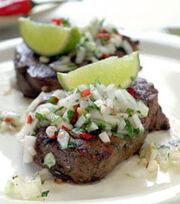 Beef Pebre