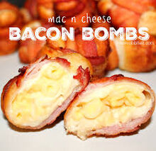 BaconMac And CheeseBombs