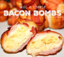 Bacon Mac and Cheese Bombs