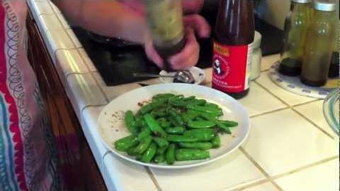 How to Cook the Asian Snow Peas