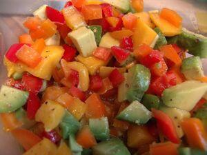 Mango-Avocado Salsa