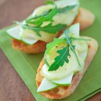 Healthy Appetizer Crop