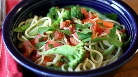 How To Make Pasta Primavera - Healthy Pasta Recipe