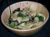 Pear Salad with Raspberry Vinaigrette