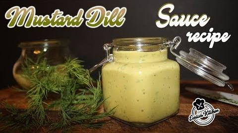 How to Make the Mustard-Dill Dressing