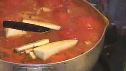 Tokyo Small Kitchen7.Tomato soup and Pork bowl