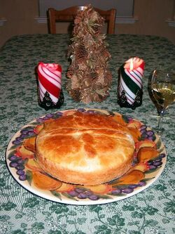 Christmas bread - Cesnica