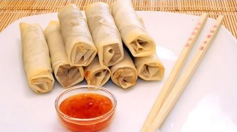 How to Cook Beef Spring Rolls