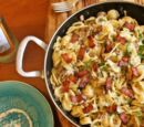 Bacon and Sausage Pasta