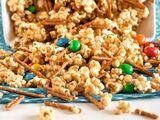 Halloween Popcorn Grunch