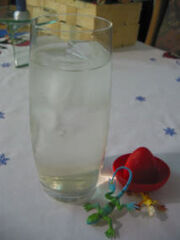Cocktail mexican water