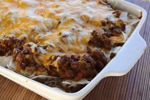 Burrito casserole 1