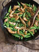 Chicken and Pea Pod Stir-fry