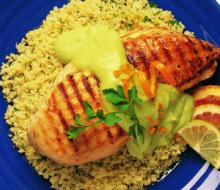 Grilled-Chicken-with-Avocado-Citrus-Sauce