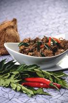 Chicken Kalu Pol