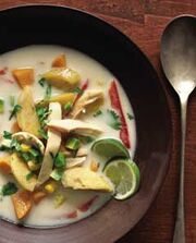 Coconut Vegetable Soup