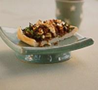 Vegetarian Turkish Pide