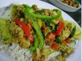 Okra with Tomatoes and Onions