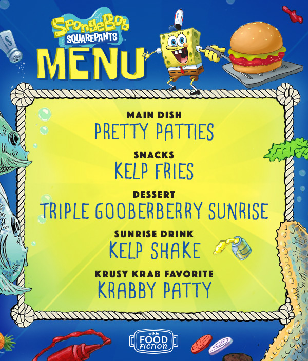 User Blogasnow89vote For The Ultimate Spongebob Squarepants Menu