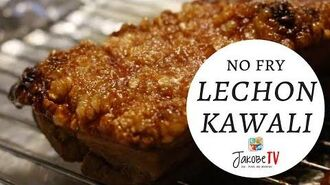 No Fry Lechon Kawali (Baked Pork Belly) Jakobe TV
