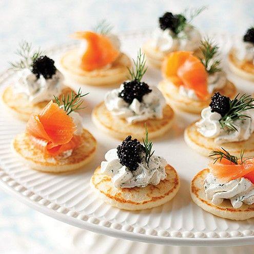 Salmon And Caviar Blinis Recipes Wiki Fandom Powered