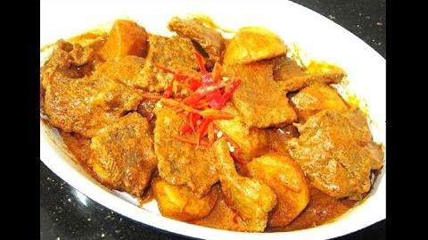 Flavorful Beef and Potato Rendang Recipe
